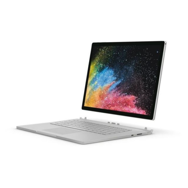 Microsoft SurfaceBook 2 HN600018SLV Convertible Touch Laptop Corei7 1.9GHz 8GB 256GB NVIDIA Win10Pro 13.5inch