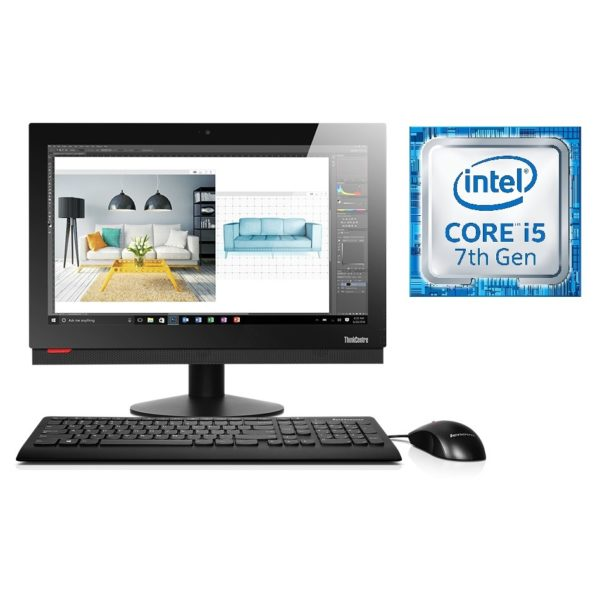 Lenovo M810Z All In One Multi-touch Desktop 10NX000JAX Corei5 3GHz 4GB 1TB Shared Win10pro 21.5inchFHD